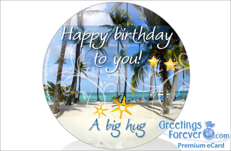 Ecard - Happy Birthday to you!