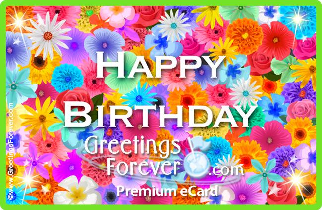 Ecard - Birthday e-card