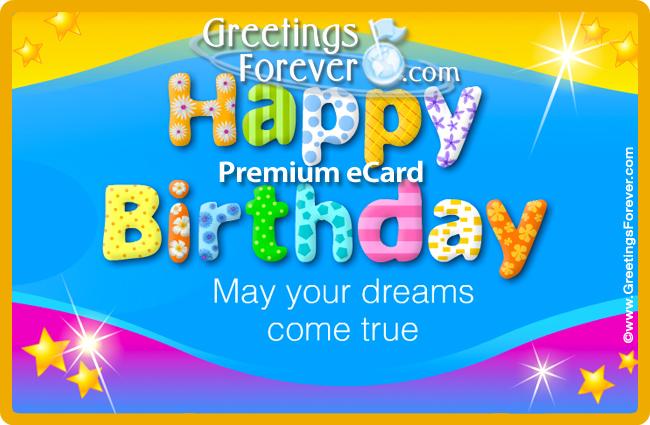 Tarjeta - Birthday eCard