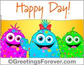 Happy day ecard