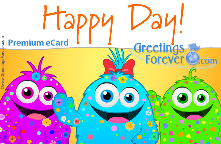 Ecard - Happy day ecard