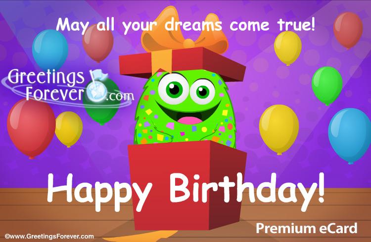 Ecard - Birthday gift ecard