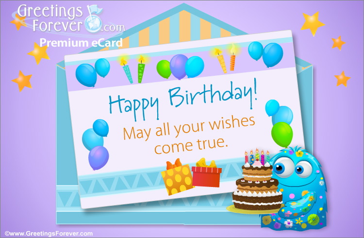 Ecard - Happy birthday surprise ecard