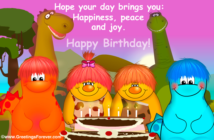 Ecard - Birthday ecard: Hope your day...