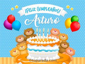Tarjetas de Arturo