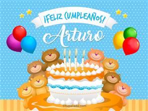 Tarjetas, postales: Arturo