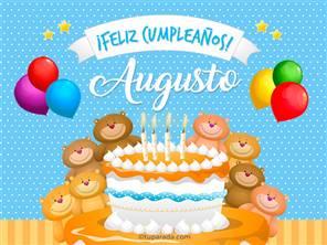 Cumpleaños de Augusto