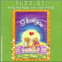 Puzzle eCard: 8 pieces