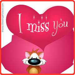 Ecards: I Miss you