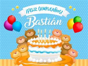Tarjetas, postales: Bastián
