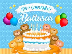 Cumpleaños de Baltasar