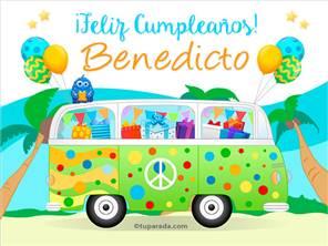 Tarjeta de Benedicto