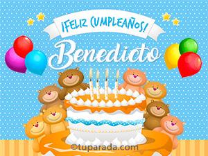 Tarjetas de Benedicto