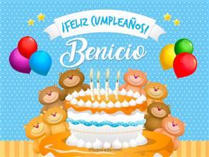 Tarjetas, postales: Benicio