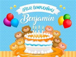 Cumpleaños de Benjamín