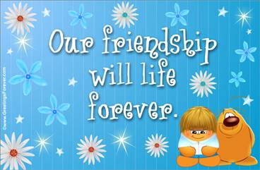 Friendship ecard