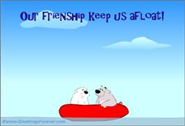 Our friendship ecard