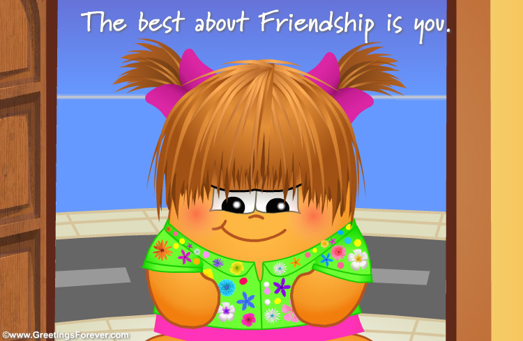 Ecard - The best about friendship...