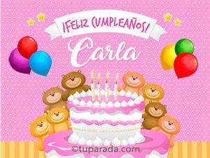 Tarjetas de Carla