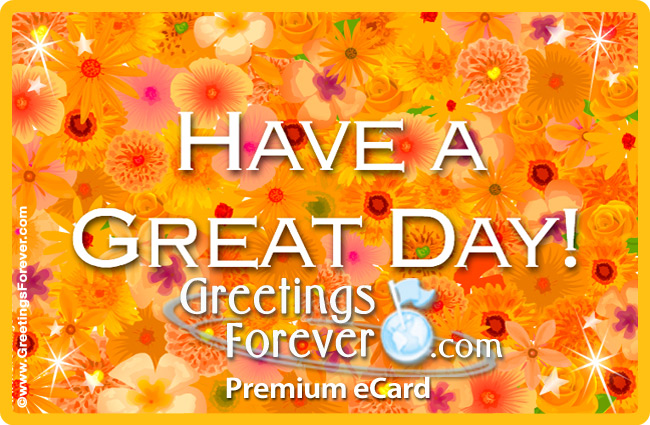 Ecard - Have a great day ecard