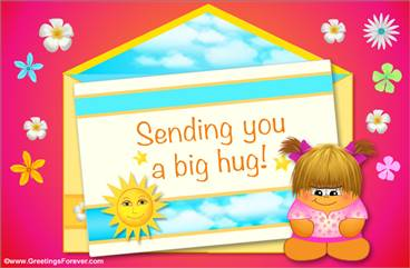 Sending you a big hug!