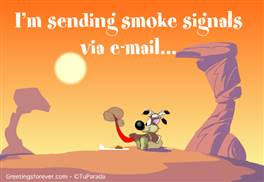 I'm sending...