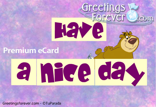 Ecard - Have a nice day