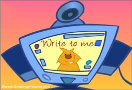 Write to me ecard