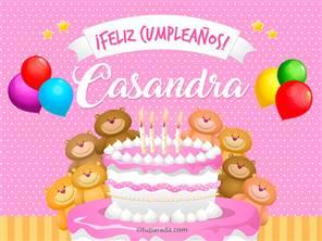 Tarjetas, postales: Casandra