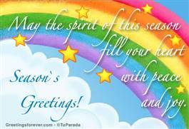 May the spirit...