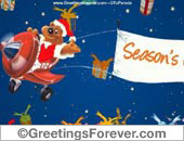 Season's Greetings e-card