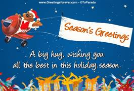 Season's Greetings e-card