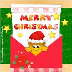 Merry Christmas e-card