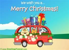 We wish you...