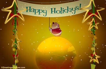 Happy Holidays e-greeting