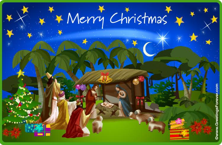 Ecard - Jesus was born ecard
