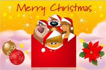 Tarjetas, postales: Christmas