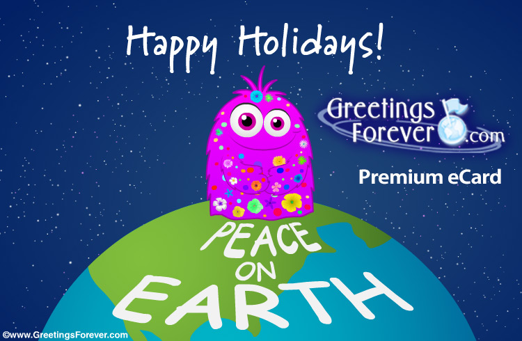 Ecard - Peace on Earth ecard