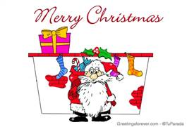 Funny Merry Christmas ecard