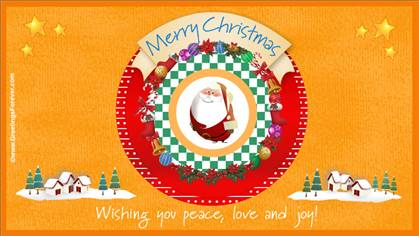 Christmas wishes ecard