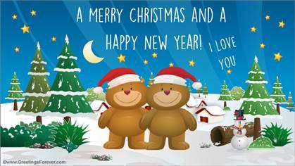 Ecard for Christmas