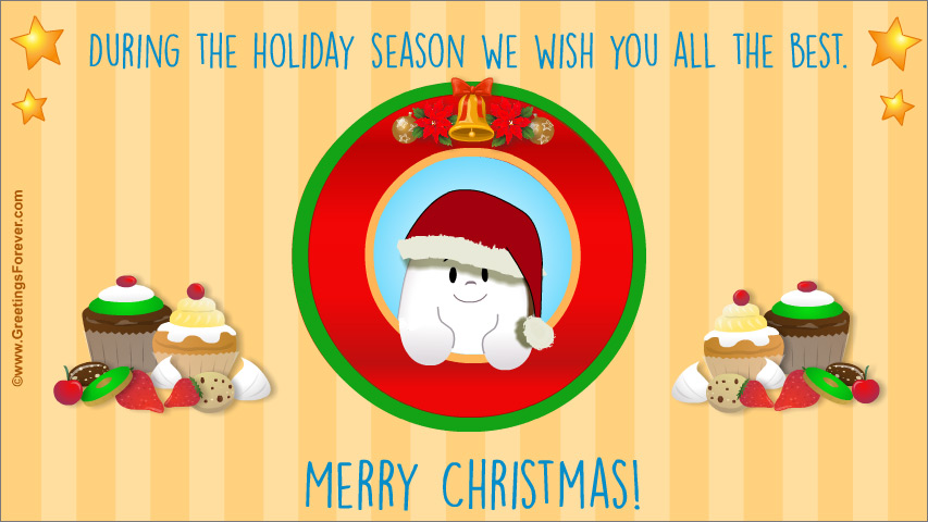 Ecard - Special Christmas greeting