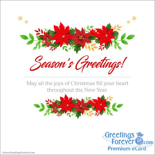 Ecard - All the joys of Christmas