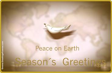 Peace ecard