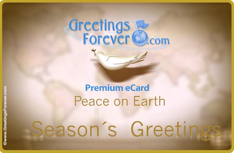 Ecard - Peace ecard