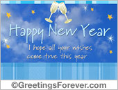 New year egreeting