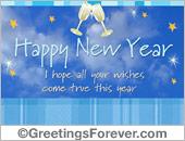 New year egreeting