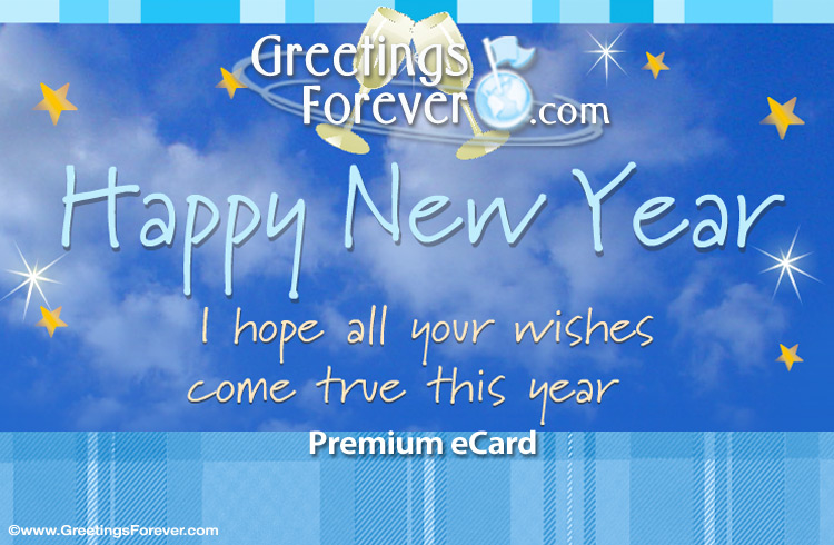 Ecard - New year egreeting