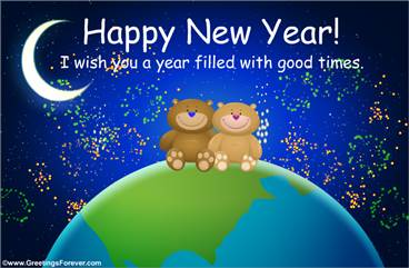 Ecards: New Year