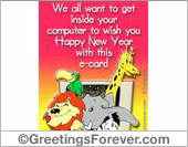 To wish you...